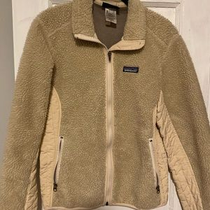 Women's retro-x Patagonia full zip jacket